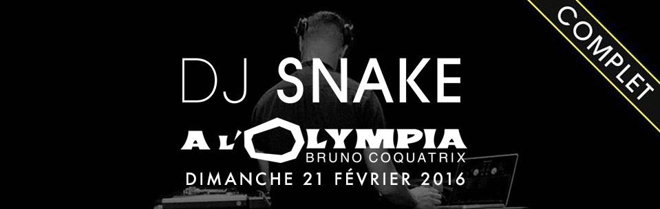 DJ Snake Olympia - Report