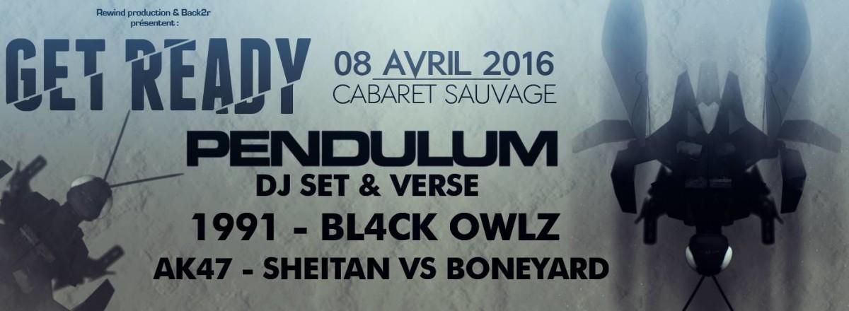 Get Ready 3 - Pendulum - Bandeau de présentation