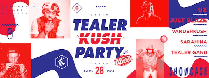 Tealer Party - UZ - Bandeau de présentation