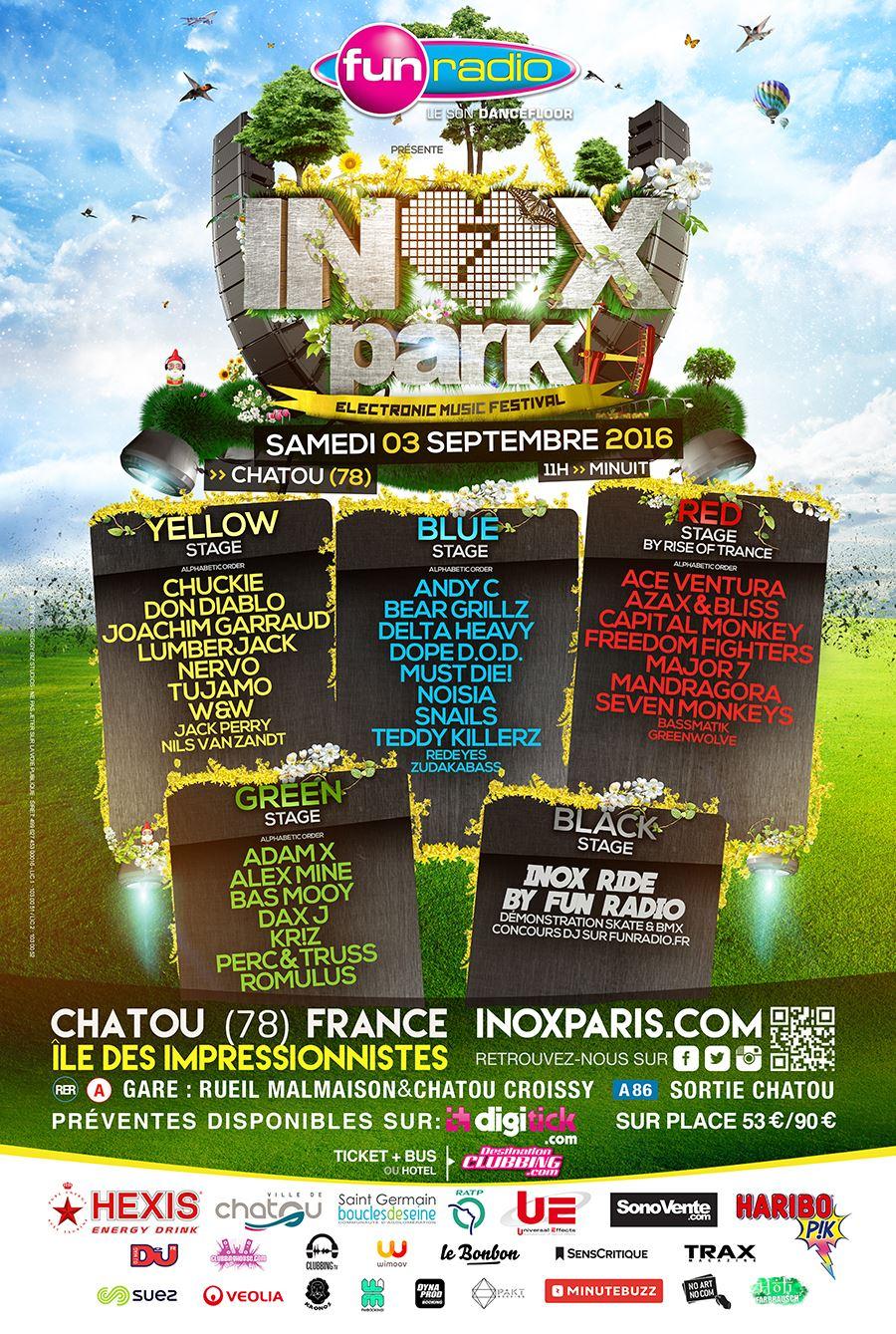 Inox Park Festival 7 - Affiche